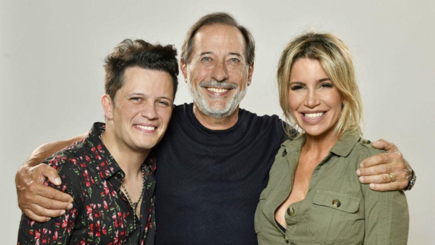 Florencia Peña y Guillermo Francella dieron un anticipo de Casados con hijos