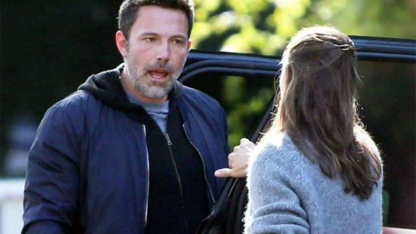 Jennifer Garner y Ben Affleck pelean en plena calle