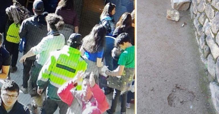 Detienen a turista chileno por dañar templo en Machu Picchu