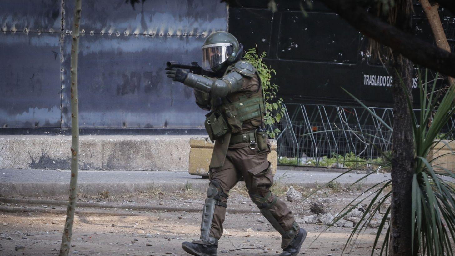 Informe INDH: 2.063 personas han resultado heridas por disparos