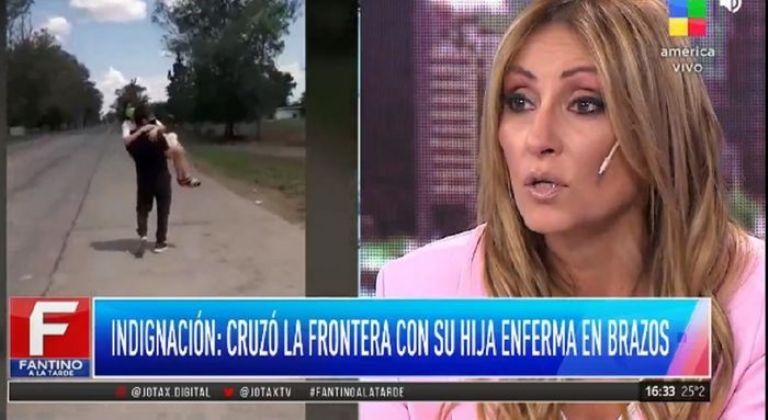 Marcela Tauro, quebrada en llanto por el caso de Abigail: