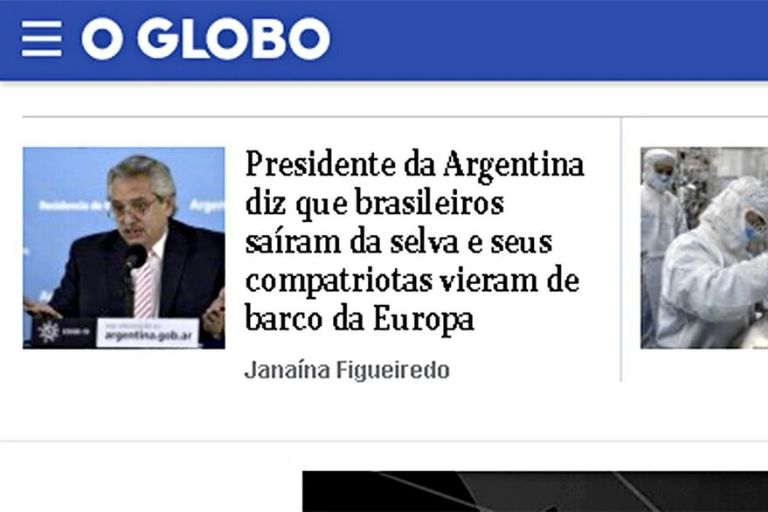 Polémica por una frase de Fernández sobre los mexicanos, brasileños y argentinos